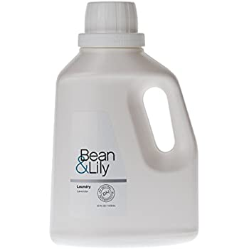 Bean & Lily Laundry Detergent - Plant Based, pH Neutral, Pet-Safe, Non-Toxic - Lavender - 50oz Concentrated