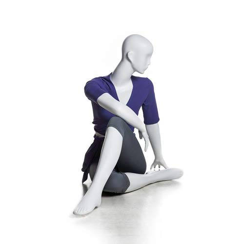 (MC-YOGA09) ROXYDISPLAY™ High end Quality. Female Yoga Position of Sitting, Full Body, Abstract Head, NO Base by ROXYDISPLAY™ (Image #1)