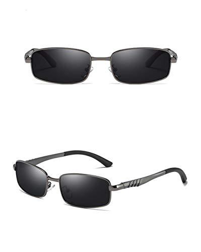Gafas Retro Conducción Cuadrado Aire 2 Gafas WJYTYJ UV Hombres Polarizados Espejo Protección Gafas De Retro Conductor Al Libre Sol De Deportes Sol Pq4Y0PR