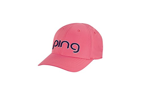 38b68b79f6fa7 Ping 2018 Ladies Performance Adjustable Hat Cap- Peony Navy by Ping (Image