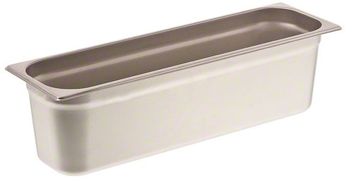 Browne (22246L) 6'' Half-Long Size Solid Steam Pan by Browne Foodservice