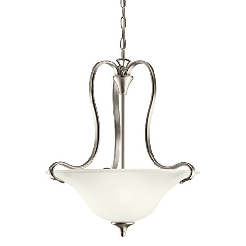 Kichler Wedgeport Inverted Pendant (Kichler 10742NI Two Light Pendant)