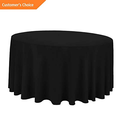 Kaputar Round Wedding Banquet Polyester Fabric Tablecloth (More Sizes Colors) | Model TBLCLTH - 65 | - Curtain Paisley Suede