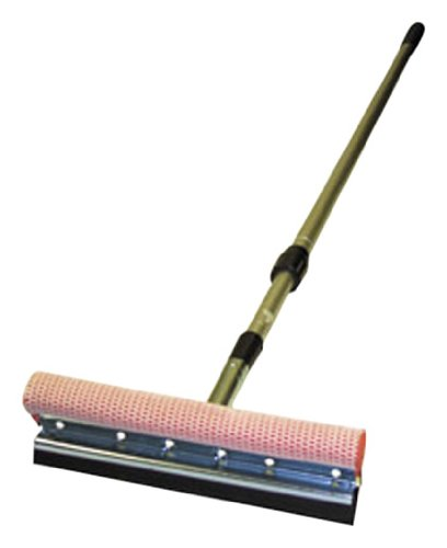 Carrand 9500 Professional 10'' Metal Squeegee with 84'' Extension Pole