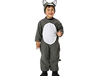 Atosa-95524 Disfraz Lobo, Color Gris, 3 a 4 años (95524: Amazon.es ...