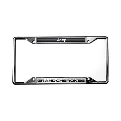 Jeep Grand Cherokee License Plate Frame: Automotive