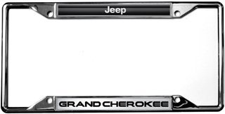 Jeep Grand Cherokee License Plate Frame (Jeep Grand Cherokee Frame)