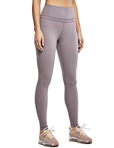 CRZ YOGA Women's Naked Feeling High Waist Sports Tight Yoga Leggings-28 Inches Lunar Rock 28'' L
