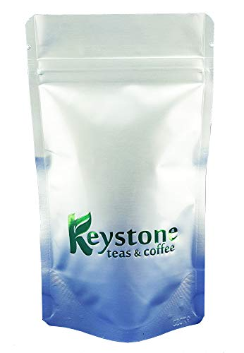 Tropical Passion Iced Tea - Unsweetened Green iced tea Pouches, Tropical passion flavor, Filter tea bags yield 3 gallons by Keystoneteas