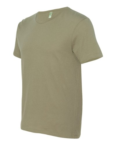 Alternative mens Organic Basic Crew(AA6005)-EARTH MOSS-L