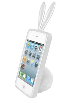 Rabito RB8000S - Carcasa para Apple iPhone 4S con orejas y ...