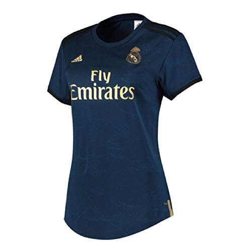 adidas 2019-2020 Real Madrid Womens Away Football Soccer T-Shirt Jersey