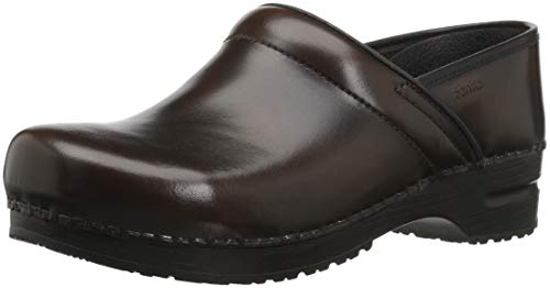 - Sanita Women's Original Cabrio Pro Wide Clog, Brown, 37 EU (6.5 US)