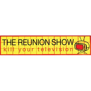 Taking Back Sunday Stickers (THE REUNION SHOW - Kill Your Television - Sticker)