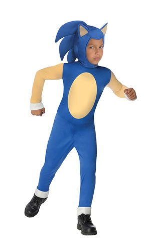 [Sonic Generations Sonic The Hedgehog Costume - Medium] (Sonic Hedgehog Costume Rental)