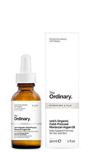 The Ordinary 100% Organic Moroccan Argan Oil Argan Oil Cold Pressed 30 ml
