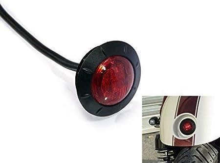 R1100S 1998-2004 colore: Grigio fumo Fanale posteriore a LED per moto per F650CS 2001-2004 Three T