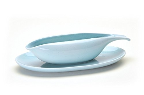 Russel Wright American Modern Gravy Boat & Saucer
