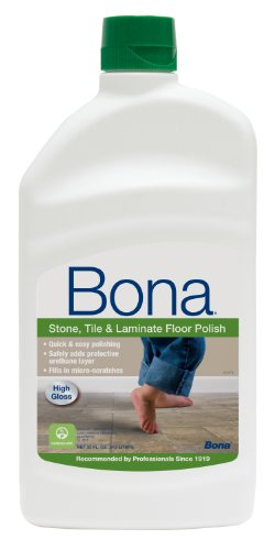 Wax Floor Polish (BonaKemi WT760051161 32-Ounce Stone, Tile and Laminate Floor Polish)