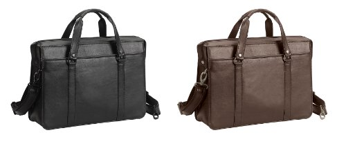 Goodhope the Insider Soft Leather Briefcase (Bellino)-brown