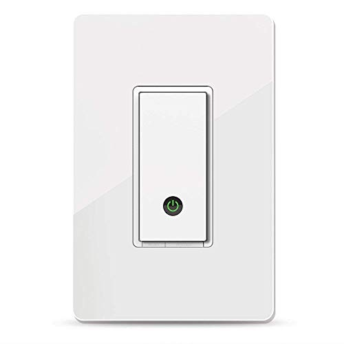 Wemo Light Switch, WiFi Enabled, Compatible with Alexa and The Google Assistant (Renewed)