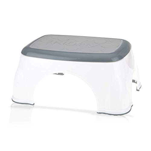 Nuby Step Up Stool, Gray