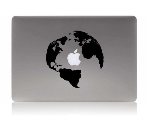 Amazon ideapro globe silhouette decal new ad decal apple amazon ideapro globe silhouette decal new ad decal apple laptop decorative vinyl sticker skins for macbook 13 inch macbook pro 13 macbook air 13 gumiabroncs Gallery