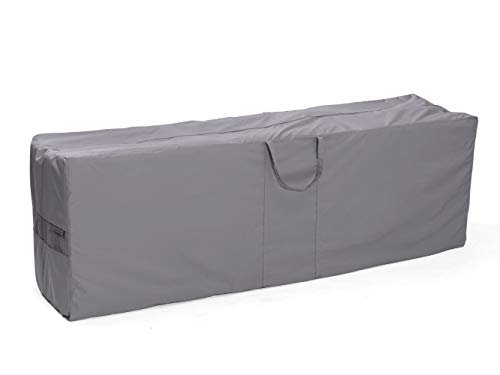 Covermates – Cushion Storage Bag – 75W x 18D x 26H – Elite Collection – 3 YR Warranty – Year Around Protection - Charcoal