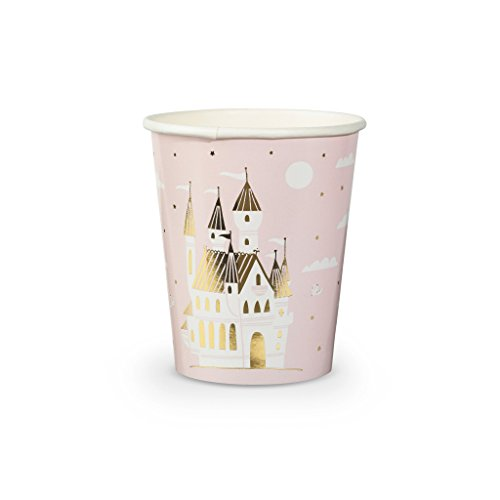 (Daydream Society Sweet Princess Castle Paper Party Cups, Pack of 8)