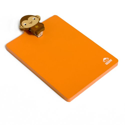 Promotional Clipboards - [Lovely Monkey] - Refrigerator Magnet clip / Magnetic Clipboard