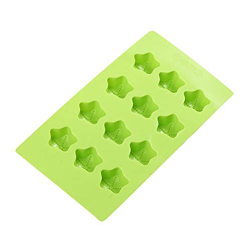 iHHAPY Silicone Ice Cube Trays, Ice Cube Molds Non Stick Ice Cube Chocolate Jelly Sweet Candy Maker Love Moulds Trays