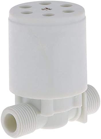 Noblik 1//2 inch Floating Ball Valve Automatic Float Valve Water Level Control Valve F//Water Tank Water Tower