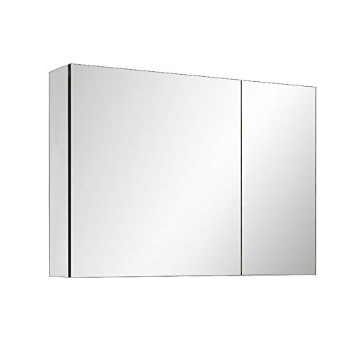 Wall-mounted freestanding Mirrored Cabinet Wall/LED Illuminated Bathroom Mirrors Wall Mounted With Lights -