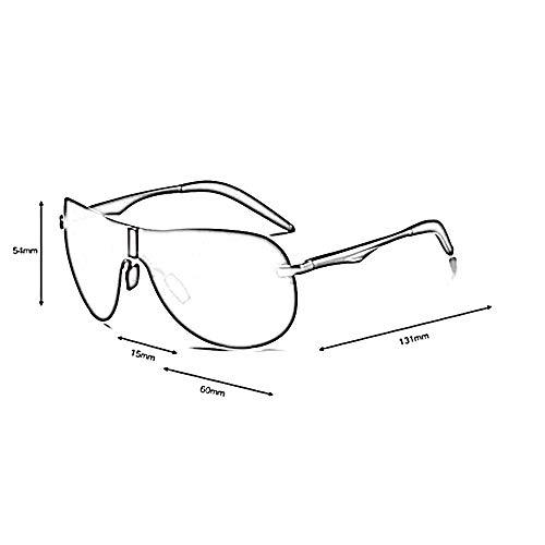 Protection 100 Femme d'aluminium ZHRUIY Cadre Alliage Goggle De UV 5 Couleurs Homme Loisirs Lunettes Soleil Alliage Sports A3 1BnfwUSqn