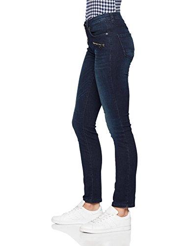 Blu Alexa Slimfit Blue Tom Donna Slim 1100 Tailor rinsed Jeans Mit Zipdetails Denim a81wBq