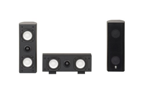 Yamaha NS-AP7800 Slim Line Center Channel and Surround Speakers (Black) by Yamaha