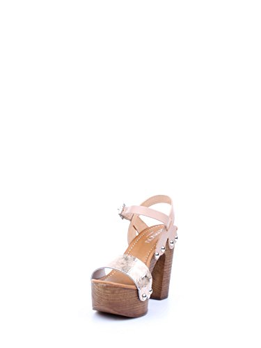 ZR82A PLATINO Scarpa donna sandalo zoccolo plateau Hypnosi Zaira platino Fq8KGF