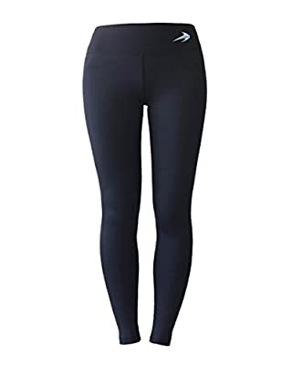 Women's Compression Pants - Best Full Leggings Tights for Running, Yoga, Gym by CompressionZ from CompressionZ