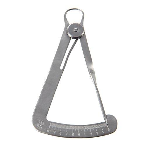TOOGOO(R) Jeweller Stone Diamond Gauge Measuring Caliper Metal Tool