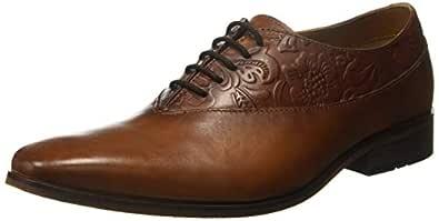 Ruosh Light Brown Flat Shoes For Men, 43 EU