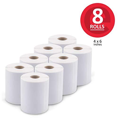 [8 Rolls, 1760 Labels] Address & Shipping Labels 1744907 (4 x 6
