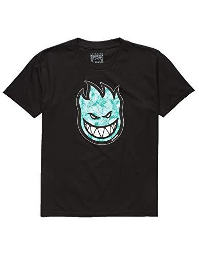 SplitFire Spitfire Bighead Boys T-Shirt, Black, Medium