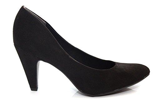 Marco Tozzi - Zapatos de vestir de Material Sintético para mujer Negro negro 16.00 Negro - negro