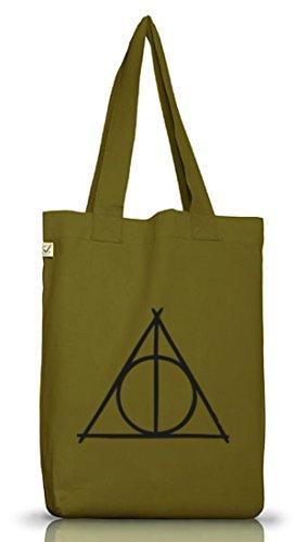 Verde positiva Earth Funda Leaf Camiseta Única Bolsa yute Talla Triangle Green Harry Plástico street24 xCw1UZPq