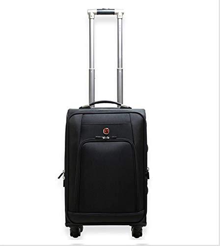 携帯用トロリー箱 - ビジネス防水手荷物のスーツケース、オックスフォードの布/普遍的な車輪のスーツケース20インチ搭乗ケース B07TJWGFGL