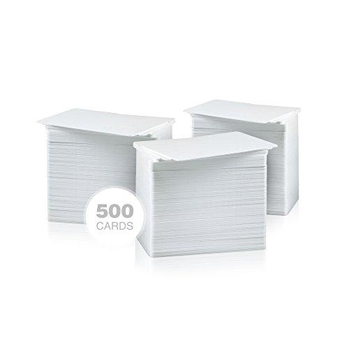 AlphaCard Premium Blank PVC Cards, CR80 30mil (Standard - Card Credit Standard Dimensions