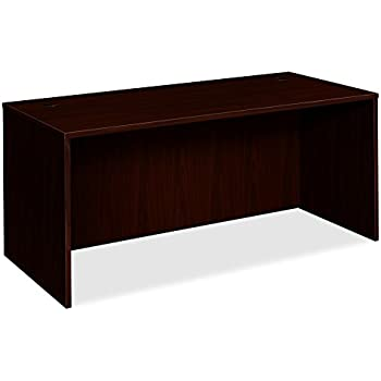 amazon com hon bl laminate series office desk shell rectangular