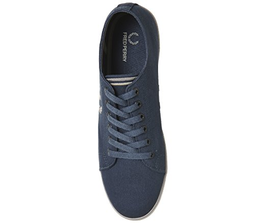 Bleu Midnight Deportivas Fred Kingston Blue Perry Twill B6259uf57 tqwnaOR0x