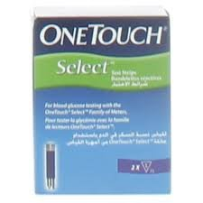onetouch select plus 50 strips