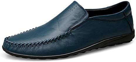 新しいファッション男性ローファー男性本革カジュアルシューズ高品質大人モカシン男性運転靴男性の靴薄い軽量夏通気性フラット滑り止めラウンドつま先